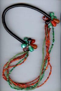 Rondelles de bakélite perles de Bohème perles de verre