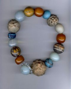 Perles de fouille perles de terre perles de verre